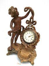 ELEGANT & Ancien PORTE MONTRE  gousset Enfant & Médaillon Pocket watch stand