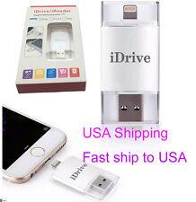 32GB USB i-Flash drive iDrive U Disk For iPhone 5S 6 6S plus 7 7plus Ipad IOS 10