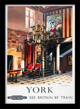 Yorks Treasurer House - Framed 30 x 40 Official Print