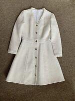 Maje Tweed Dress Or Coat Size 1 (eu 36 Or Uk 8)