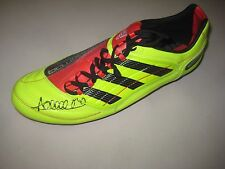 Adelaide Crows : Andrew McLeod signed Adidas Football Boot (as worn by McLeod)
