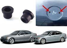 2 PACK Genuine OEM BMW Hood Or Trunk Roundel Emblem Grommets New Free Shipping