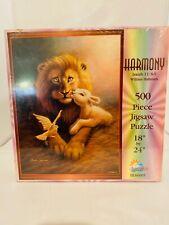 Harmony Isaiah 11:6-9 William Hallmark 500 Pc Puzzle 18x24 (Mandela Effect) Rare