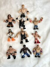 Rumblers WWE LOT 10 Rumblers Mini Figures Wrestlers