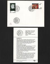 OPC 1975 Sweden Europa FDC Unaddressed