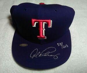 Alex Rodriguez Upper Deck authenticated signed autographed Texas Ranger's hat