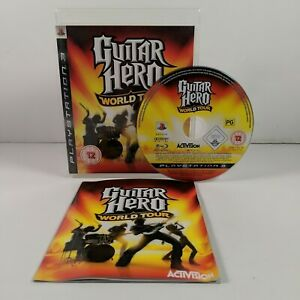 Guitar Hero World Tour - PlayStation 3 (PS3) - PAL - Complete - Free P&P