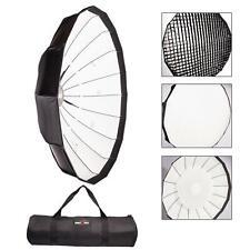 Easy Open 120cm Softbox Honeycomb Grid Umbrella Beauty Rapid Box Bowens S Fit UK