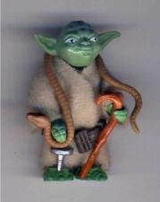 STAR WARS TESB Yoda , darkgreen with brown snake, vintage, lose, 1981