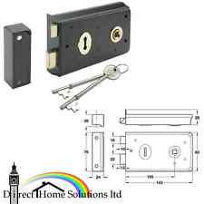 Rim sash lock