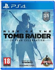 Rise of the Tomb Raider 20 Year Celebration Ps4 PlayStation 4 Brand New Sealed