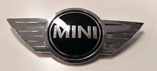 MINI COOPER ONE D B S f55 f56 f57 Anteriore Cofano Badge Emblema Logo Originale