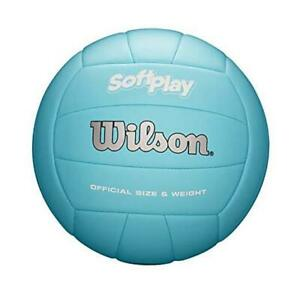 Wilson Volleyball Blue Soft Play