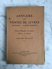 Léo Delteil Annuaire des ventes de livres En vente chez Léo Delteil