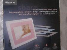 "Memorex Digital Picture Frame 7"" Model MDF0712-C  New In Box"