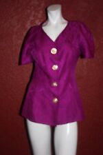 UNBRANDED WOMEN PINK TOP 100% SILK SIZE 12