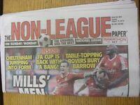 16/08/2015 The Non-League Paper: Issue No 803. Footy Progs/Bobfrankandelvis, exp