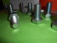 IHC Sechskant STAHL Schraube 19,05x38,1 UNC verzinkt DIN 933 8.8  ISO 4017 ZOLL