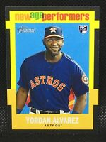 2020 Topps Heritage Yordan Alvarez RC New Age Performers #NAP2 - Houston Astros