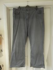 AMELIE MAY Jeans Light Blue Denim Classic Casual Straight Leg UK Size 22