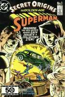 Secret Origins (1986 series) #1 in Near Mint minus condition. DC comics [*lb]