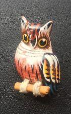 Vintage Owl or Bird Brooch Pin