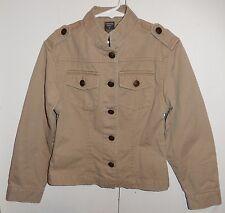 Girl's COPPER KEY Button Down Khaki Jacket Size 7