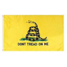 Wholesale Lot of 25 3'x5' Polyester Dont Tread On Me Gadsden Flags