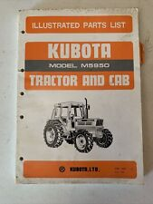 Kubota Tractor Amp Cab Model M5950