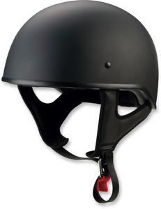 Z1R CC Beanie Half 1/2 Helmet Flat Black SHIPS FREE