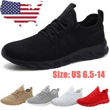 Men's Sneakers Gym Running Workout Slip Resistant Tennis Sports Fashion Shoes