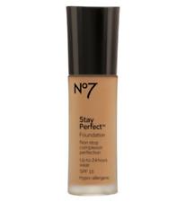 No7 Stay Perfect SPF15 Foundation 30ml Mocha NEW
