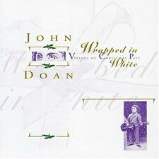 Emmy Nominee John Doan - Wrapped In White, Harp Guitar, Autograph Free Shipping!