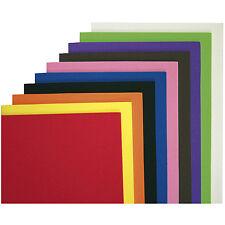 10 MOOSGUMMI PLATTEN Set A4 Grundplatten Bögen Bogen Moosgummiplatten Grund bunt