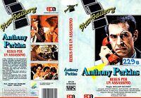 Rebus per un assassinio (1979) VHS Sampaolo Video  Eli Wallach, Anthony Perkins