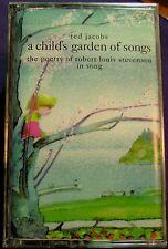 Ted Jacobs:  Child's Garden of Song: The Poetry of Stevenson  (Cassette) NEW