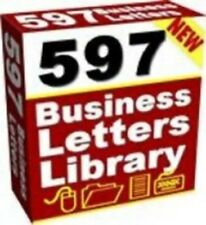 597 Business Letters & Forms CD Rom