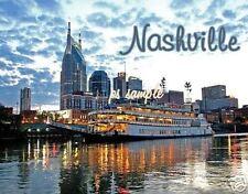 TN - Nashville - Riverboat - Travel Souvenir Flexible Fridge Magnet