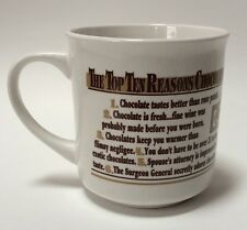 Top Ten Reasons To Love Rocky Mountain Chocolate Factory Coffee Cocoa Mug Cup