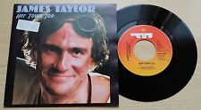 "JAMES TAYLOR - HER TOWN TOO - 45 GIRI 7"" - HOLLAND PRESS"