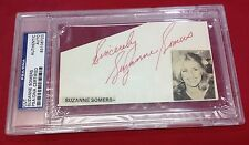 Suzanne Somers signed Cut Slabbed PSA/DNA #83106723