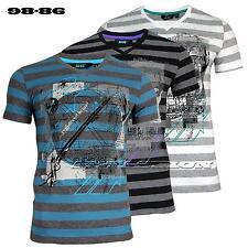 98-86 Herren T-Shirt  V-Auschnitt Gr.S,M,L,XL,XXL