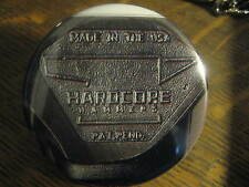 Hardcore Hammer Head Made in USA Advertisement Button Pin FREE USA Shipping $20