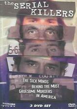 Serial Killers (3pc) 030306766591 With David Berkowitz DVD Region 1