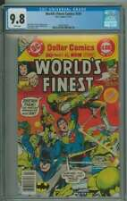 WORLD'S FINEST COMICS #245 CGC 9.8 WHITE PAGES
