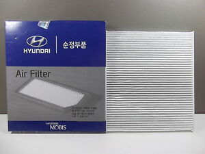 GENUINE KIA RIO HATCHBACK UB YB SERIES 1.4L PETROL ALL MODEL CABIN FILTER