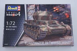 Revell 03267 2cm Flak 38 Flakpanzer IV Wirbelwind 1:72 Modelismo