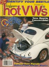 DUNE BUGGIES & HOT VW'S 1998 SEPT - ID YOUR BUG, NEW BEETLE SUSPENSION HOP-UP