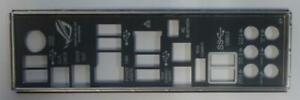 ASUS Rampage III Extreme Blende - Slotblech - IO Shield   #31710
