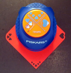 Fiskars 3-in-1 HEARTS Corner Punch - Rare Discontinued HTF Scrapbooking NEW